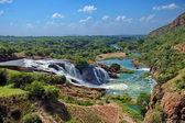 在南非鳄鱼河瀑布 — 图库照片