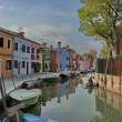 Colorful island Burano, near Venice, Italy — Stock Photo