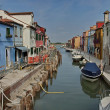 Royalty-Free Stock Photo: Colorful island Burano, near Venice, Italy