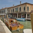 ������, ������: Water street canal in Murano island Venice Italy