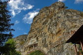 "The rock monastery ""St Dimitrii of Basarbovo"" — Stockfoto"