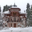 Villa at Borovetz resort in winter — Stock Photo