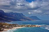 Resort village at Atlantic coast, Cape Town — Stock Photo