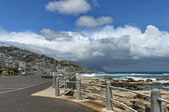 Morning in Cape Town. View of Sea point. — Stock Photo