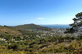Signal hill, Cape town, Scenic view from Table Mountain — Stock Photo