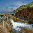 Spillway of Hartbeespoortdam - Stock Photo