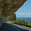 Chapman's Peak Drive. Awesome road to Cape of Good Hope. — Stock Photo #28692677