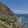 Chapman's Peak Drive. Awesome road to Cape of Good Hope. — Stock Photo
