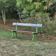 Romantic bench for repose in Emmarentipark — Stock Photo #29680441