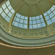 Beautiful dome at one hypermarket — Stock Photo #30267811