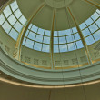 Beautiful dome at one hypermarket — Stock Photo