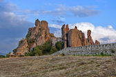 Belogradchik rocks Fortress bulwark — Stock Photo