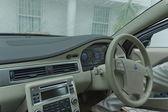 Wnętrze volvo s80 na parking przez protea hotel president — Zdjęcie stockowe