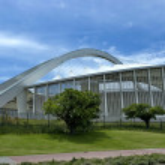 South Africa Moses Mabhida soccer stadium — Stock Photo #46316483
