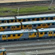 Passenger carriage in Durban railway station — Stock Photo #46316497