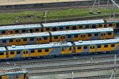 Passenger carriage in Durban railway station — Stock Photo