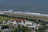 Seaside above view to Durban coast — ストック写真