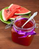 Home Made watermelon jam — Stock Photo