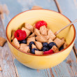 Muesli with fresh berries. — Stock Photo #38402651