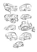 Cars set — Stock Vector