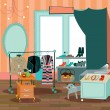 Fashion boutique — Wektor stockowy #14500505