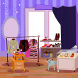 Fashion boutique — Imagen vectorial