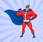 Super hero — Stock Vector