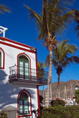 Puerto de mogan, Gran canaria — Stock Photo