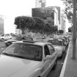 Los Angeles Downtown taxi — Stock Photo