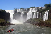 Adventure in iguazu — Stock Photo