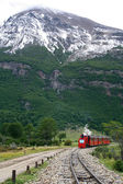 Ushuaia train — Stock Photo