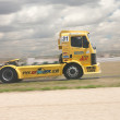 Stock Photo: Yelow truck