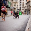 Wheelchair racer — Stock Photo