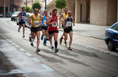 Half-marathon runners — Stock Photo