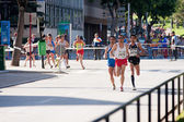 Follower runners — Stock Photo