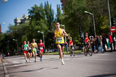 Runners and riders — Stock Photo