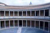 Carlos V palace — Stock Photo