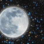 Iluminated moon — Stock Photo #30309265