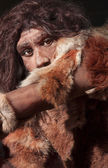 Neanderthal expression — Stock Photo