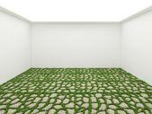 Grass room — Stock Photo