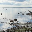 Stock Photo: Ebb of sea