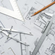 Architecure planning — Stock Photo #12802474
