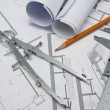 Architect tools — Stock Photo