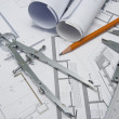 Architect tools — Stock Photo #12802504