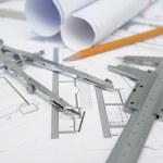 Tools architect project — Stock Photo #12802555