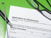 Application employment — Stock Photo