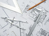 Architecure planning — Stock Photo