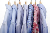Lot of shirts — Stock Photo