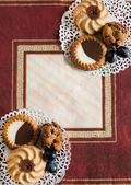 3 種類のクッキー — ストック写真