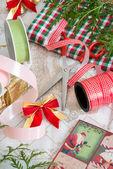 Christmas preparation — Stock Photo